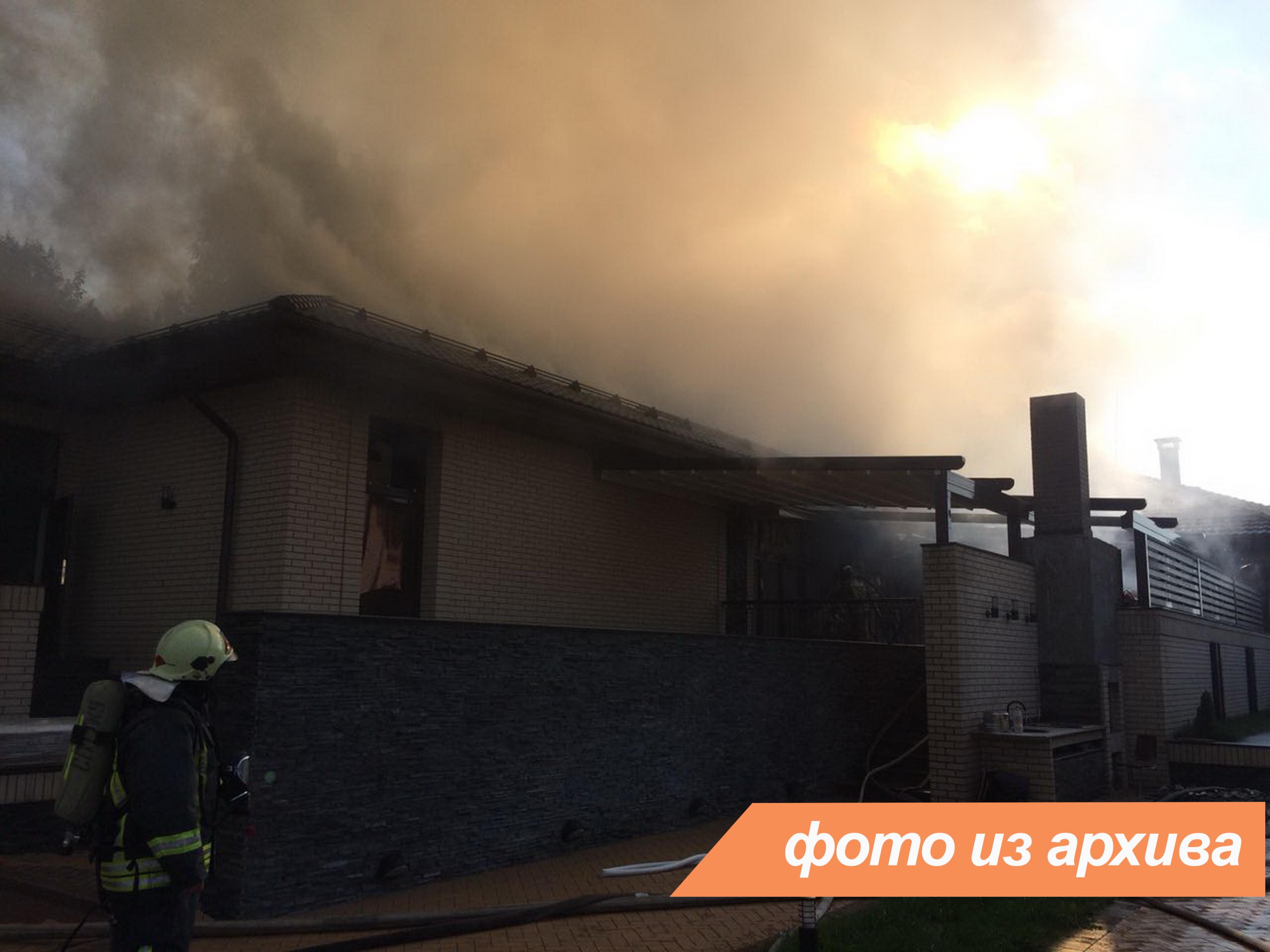 Пожарно-спасательные подразделения Ленинградской области ликвидировали пожар в городе Гатчина