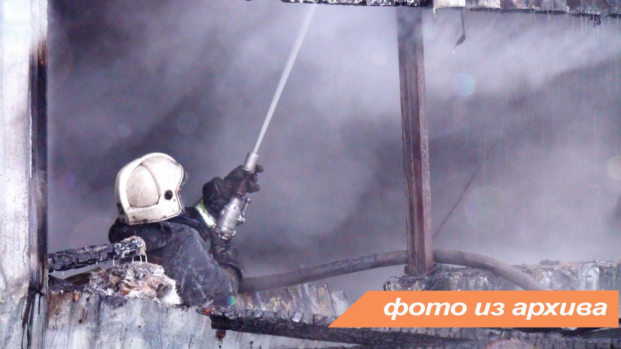 Пожарно-спасательные подразделения Ленинградской области ликвидировали пожар в Ломоносовском районе