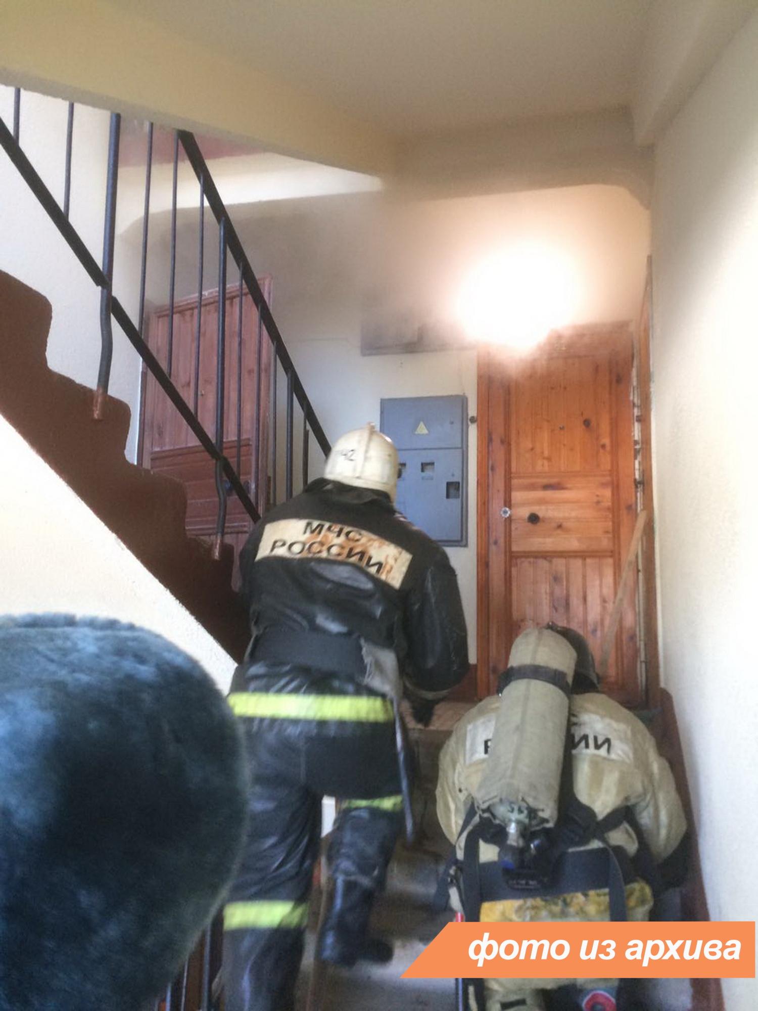 Пожарно-спасательные подразделения Ленинградской области ликвидировали пожар в Выборгском районе