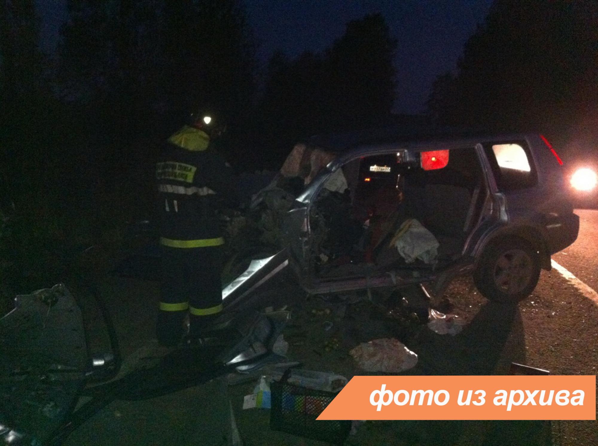 Спасатели Ленинградской области приняли участие в ликвидации последствий ДТП в Волховском районе