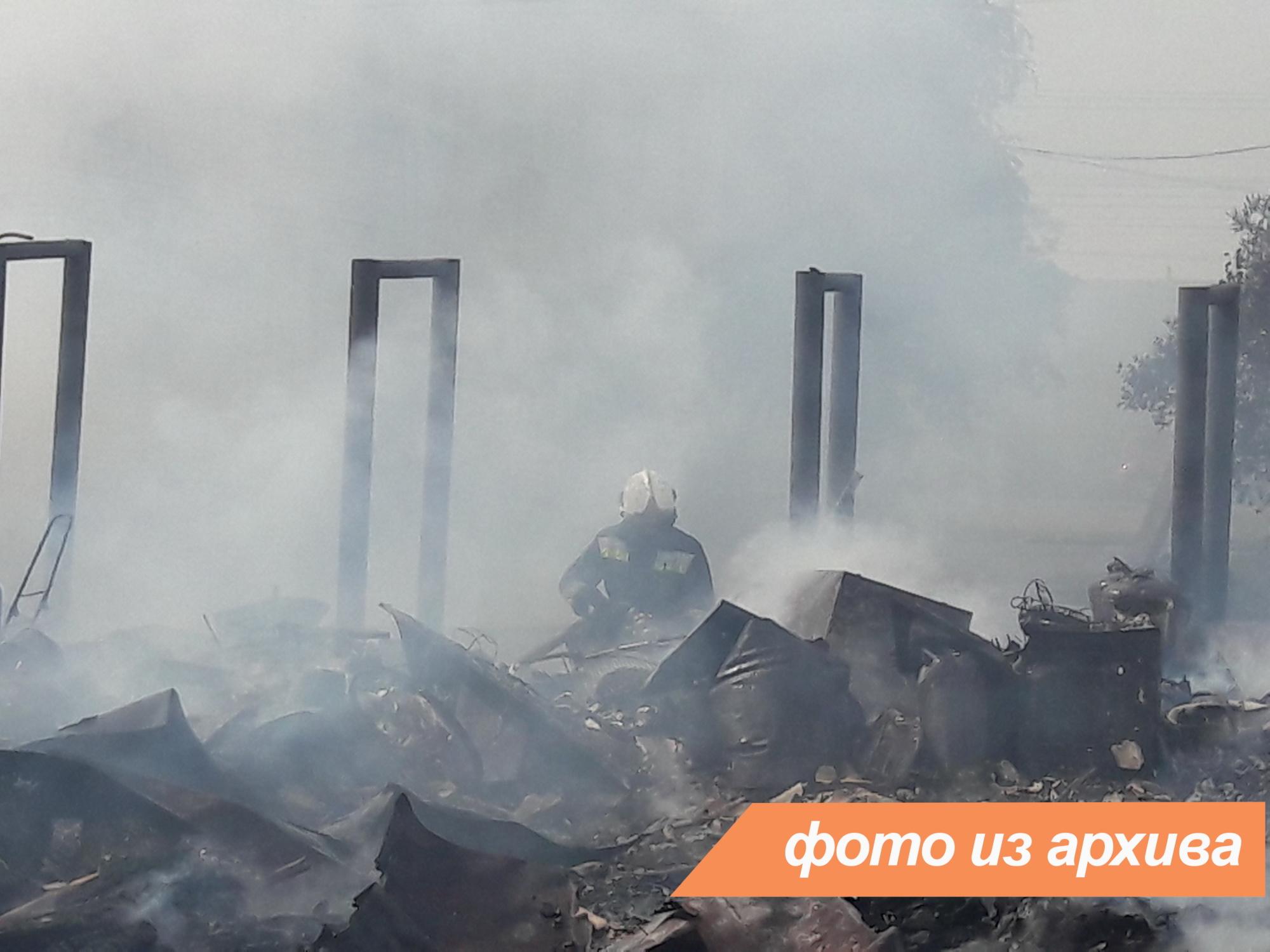 Пожарно-спасательные подразделения Ленинградской области ликвидировали пожар в Кингисеппском районе