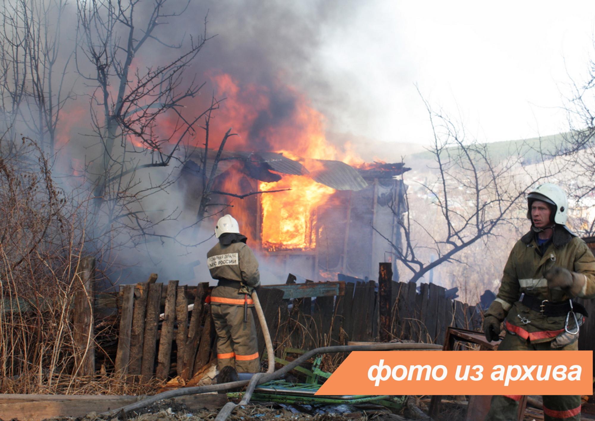 Пожарно-спасательное подразделение Ленинградской области ликвидировало пожар в Тосненский районе