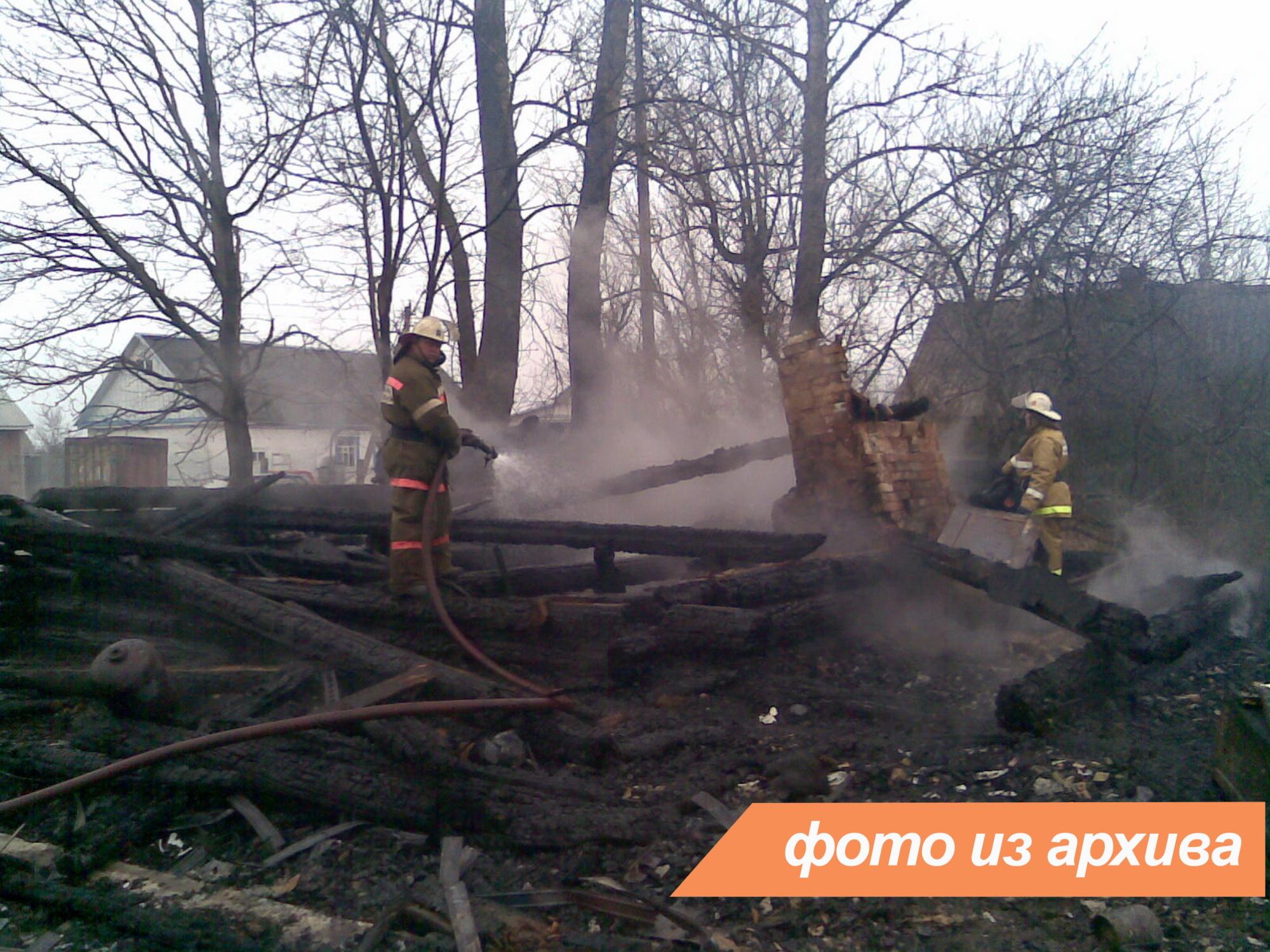 Пожарно-спасательное подразделение Ленинградской области ликвидирует пожар в Кингисеппском районе