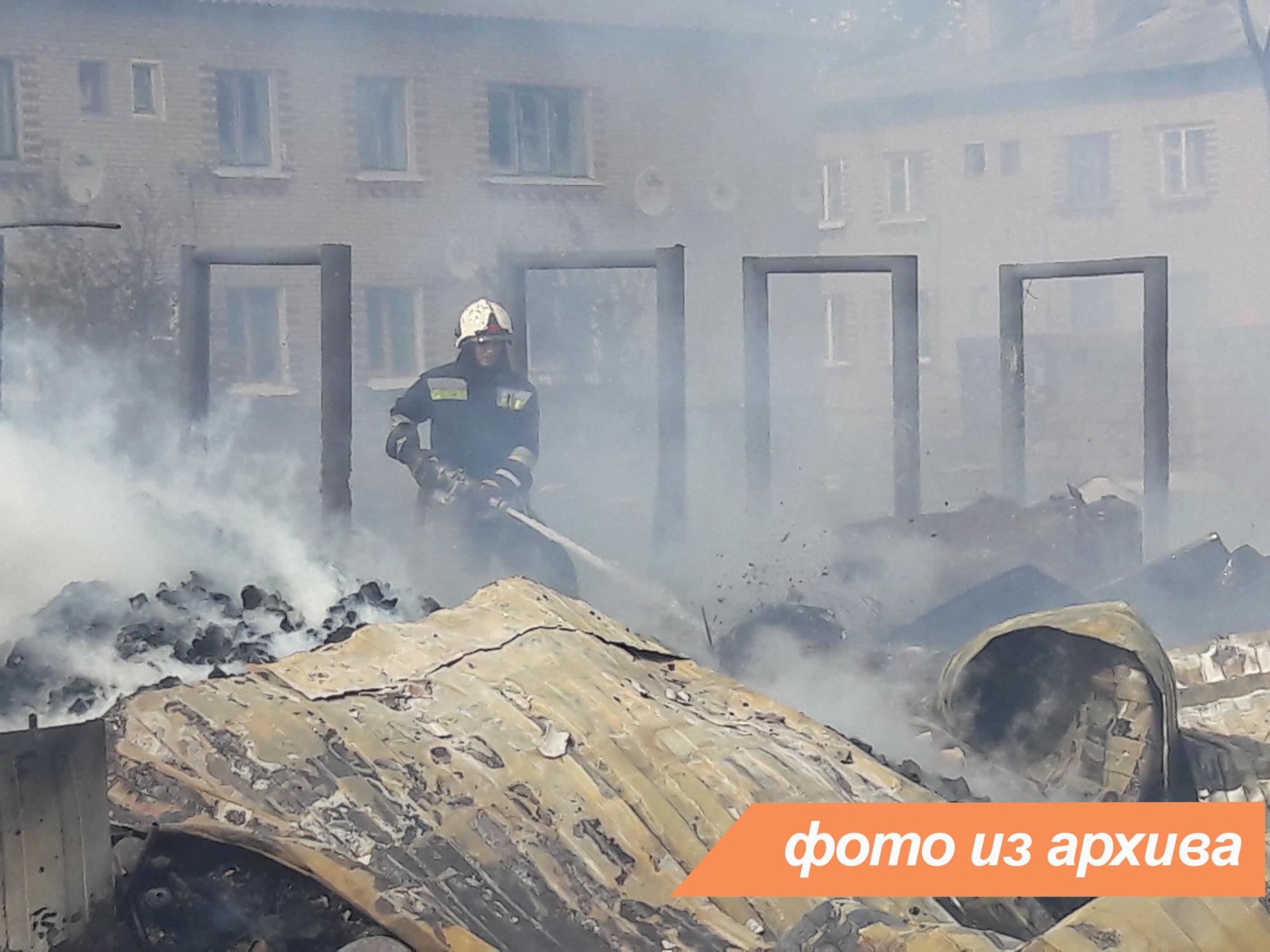 Пожарно-спасательное подразделение Ленинградской области ликвидировало пожар в Кингисеппском районе