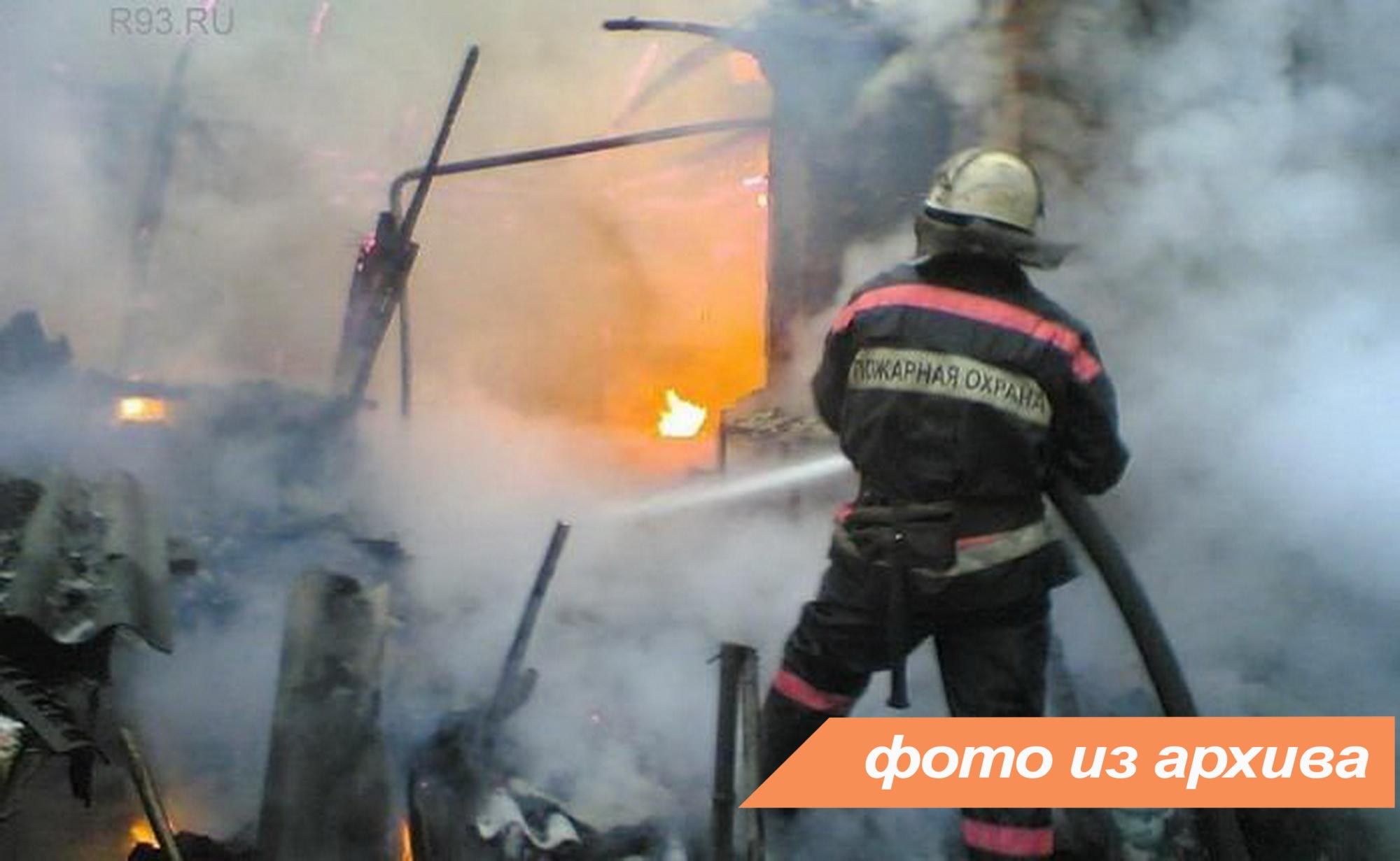 Пожарно-спасательное подразделение Ленинградской области ликвидировало пожар в Приозерском районе