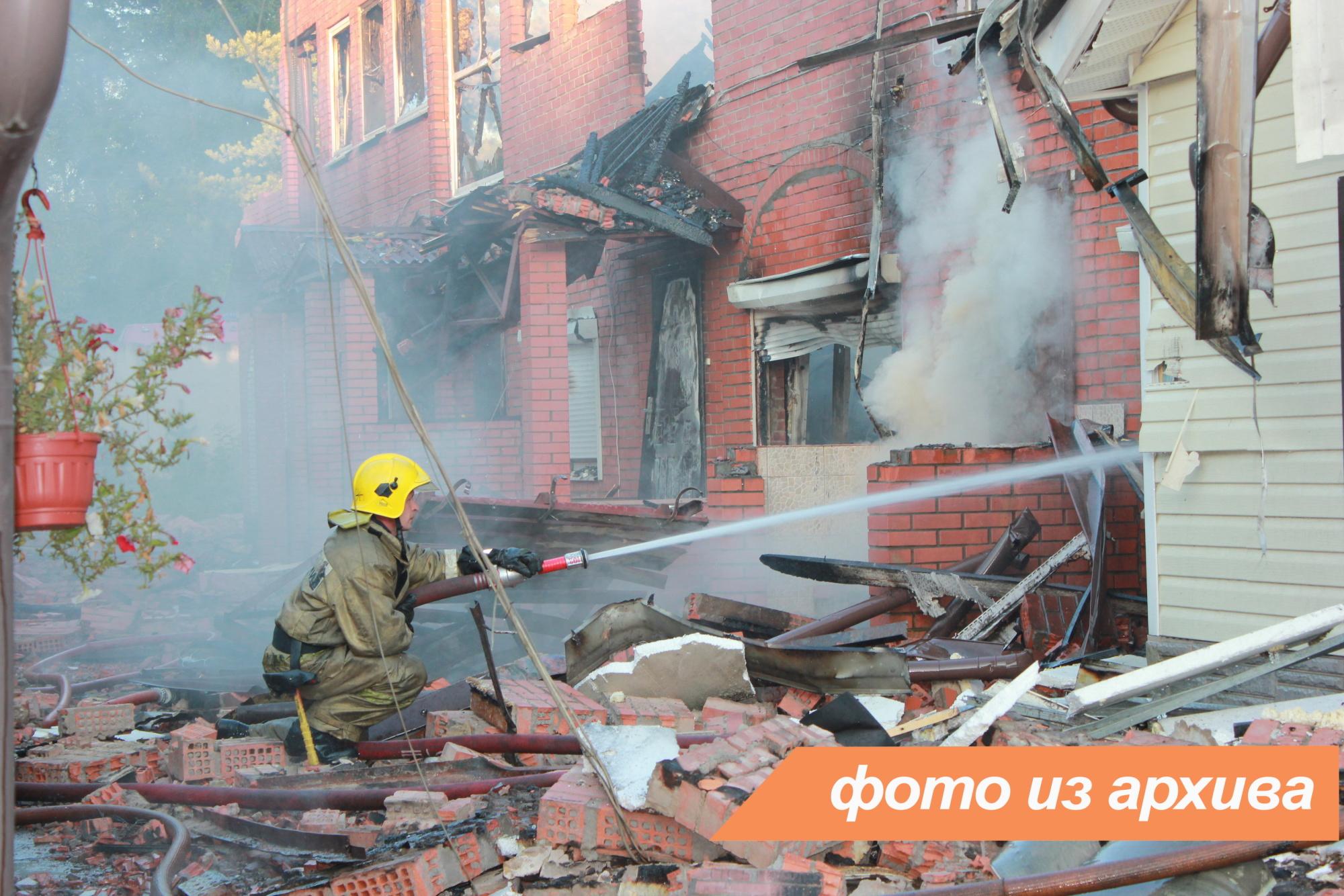 Пожарно-спасательное подразделение Ленинградской области ликвидировало пожар в Бокситогорском районе