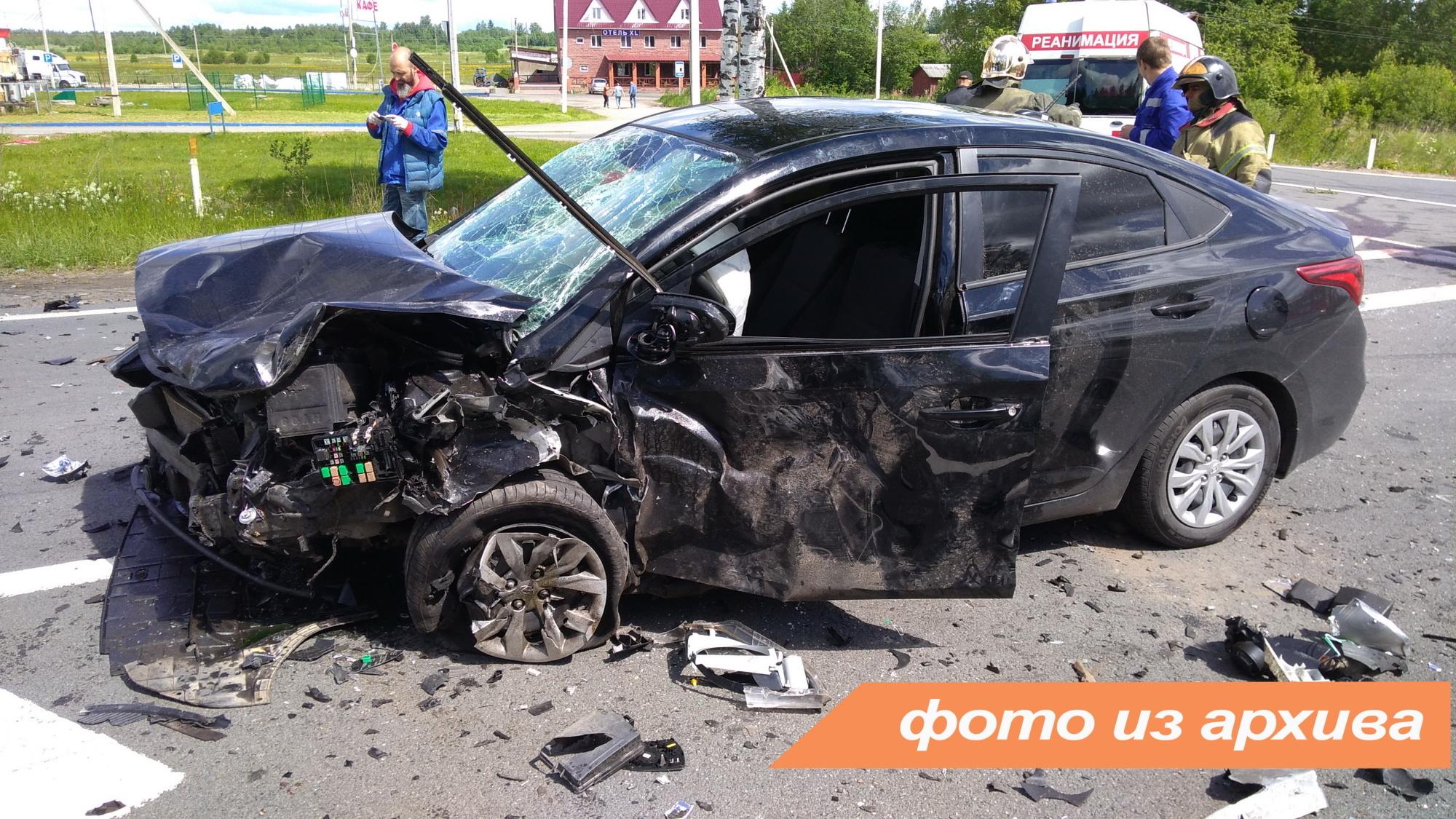 Спасатели Ленинградской области приняли участие в ликвидации последствий ДТП в Волосовском районе
