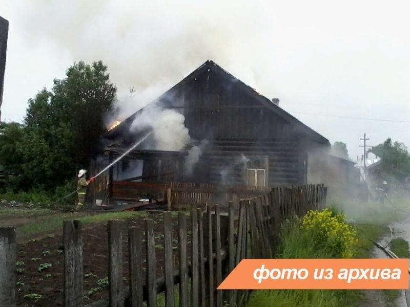 Пожарно-спасательные подразделения Ленинградской области ликвидировали пожар в Волховском районе