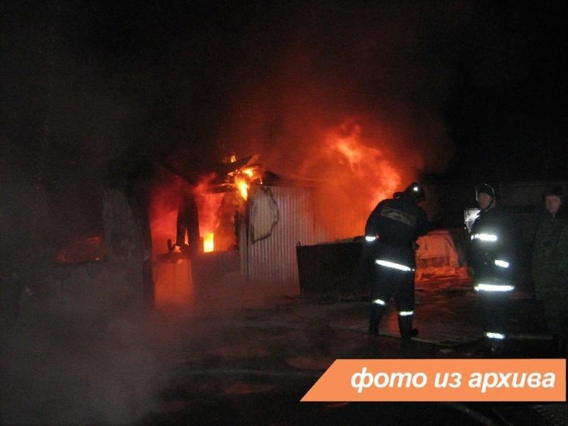 Пожарно-спасательное подразделение Ленинградской области ликвидировало пожар в Сланцевском районе
