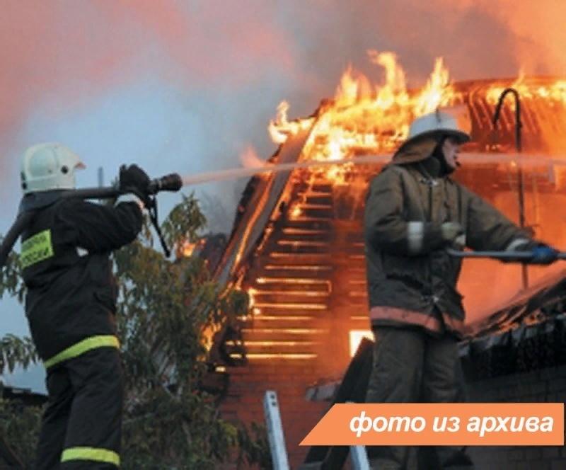 Пожарно-спасательные подразделения Ленинградской области ликвидировали пожар в г. Лодейное Поле