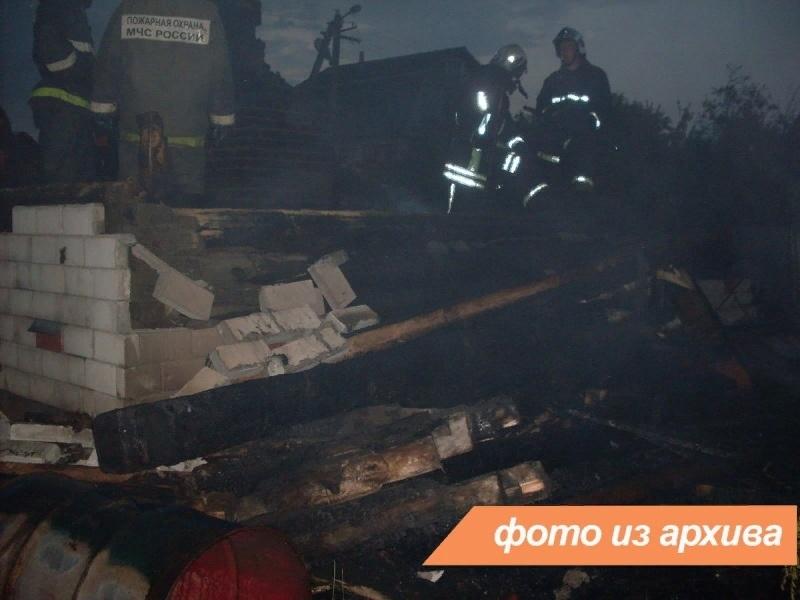 Пожарно-спасательные подразделения Ленинградской области ликвидировали пожар в Гатчинском районе
